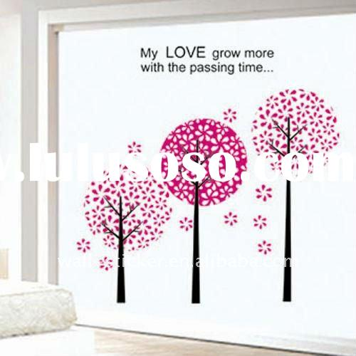 Flowers Vinyl Wall Sticker Decal