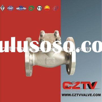Forged Flanged Stainless Steel Ball Check Valve