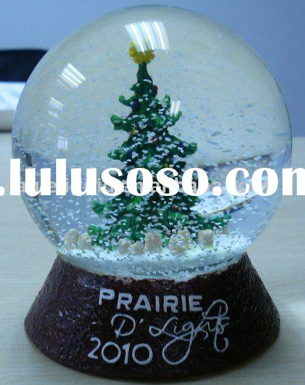 Glass snow globe, Water ball, Snow ball; Water globe;Snow dome