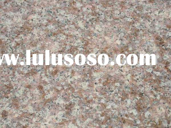 Golden peach granite ( Granite G687, Golden peach granite slab, Golden peach granite tile )