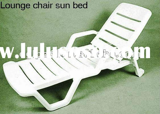 Good Quality Plastic Sun Bed,Bench Chair,Swimming Pool Chaise Lounge,Leisure Futniture