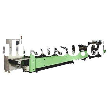 Gusset Plastic Packaging Bag Making Machine