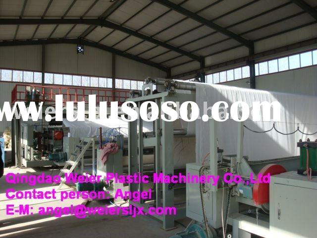 HDPE geomembrane sheet production line