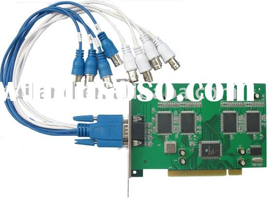 H.264/MPEG-4 4CH Video/Audio input 100/120fps Digital Video Recorder Card