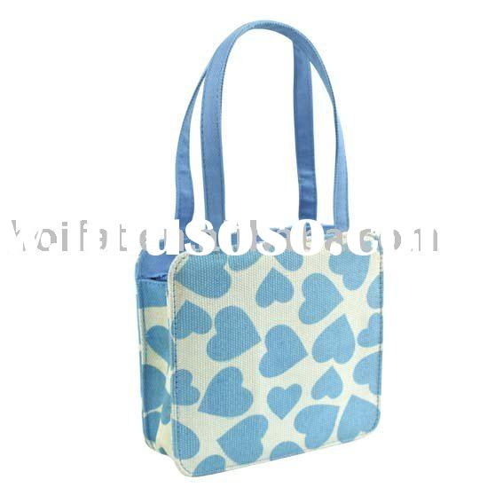 Handbags kids bags polyester tote bag children bags printing canvas small bag mini bag cheap good pr