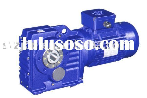 Helical-bevel gear boxes