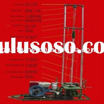 High Efficiency HF80 Portable Water Well Drilling Equipment