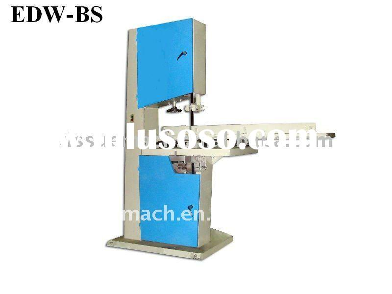 High Speed Band Saw Tissue Roll Cutting Machine