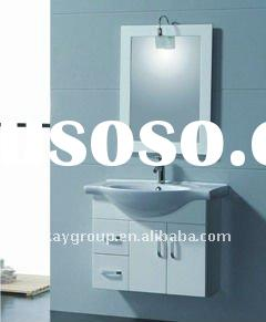 High glossy white painting PVC Bathroom Cabinet BF10246-70