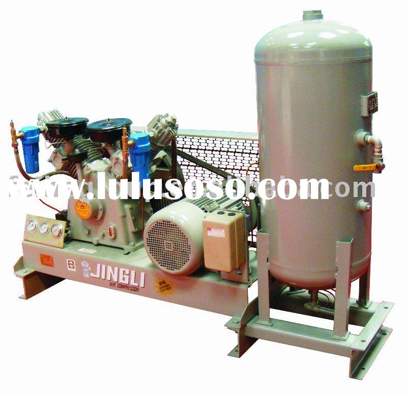 High pressure air compressor for bottle blowing machine