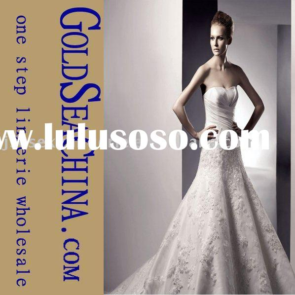 High quality, Low price, Custom made, Min=1pcs, Latest wedding dress, Mariages, evening dress, Facto