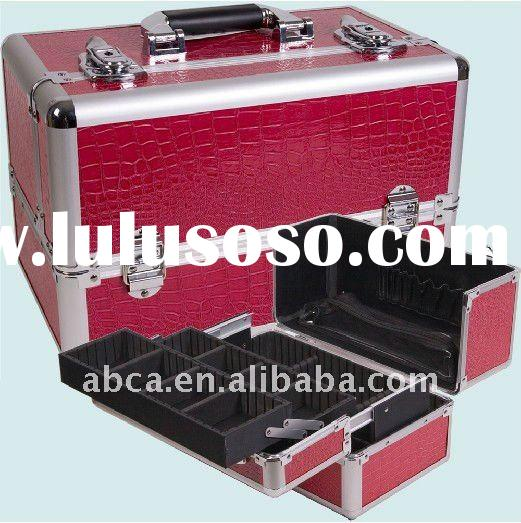 High quality and reasonable price cosmetic case makeup box