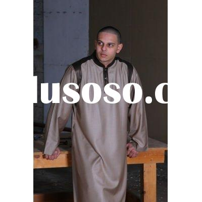 Fashion  Style Tips   on Men Islamic Clothing Fashion Thobe New Style Muslim Clothing For Men
