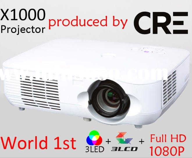 Highest Resolution can replace TV Full HD 1080p LED Projector