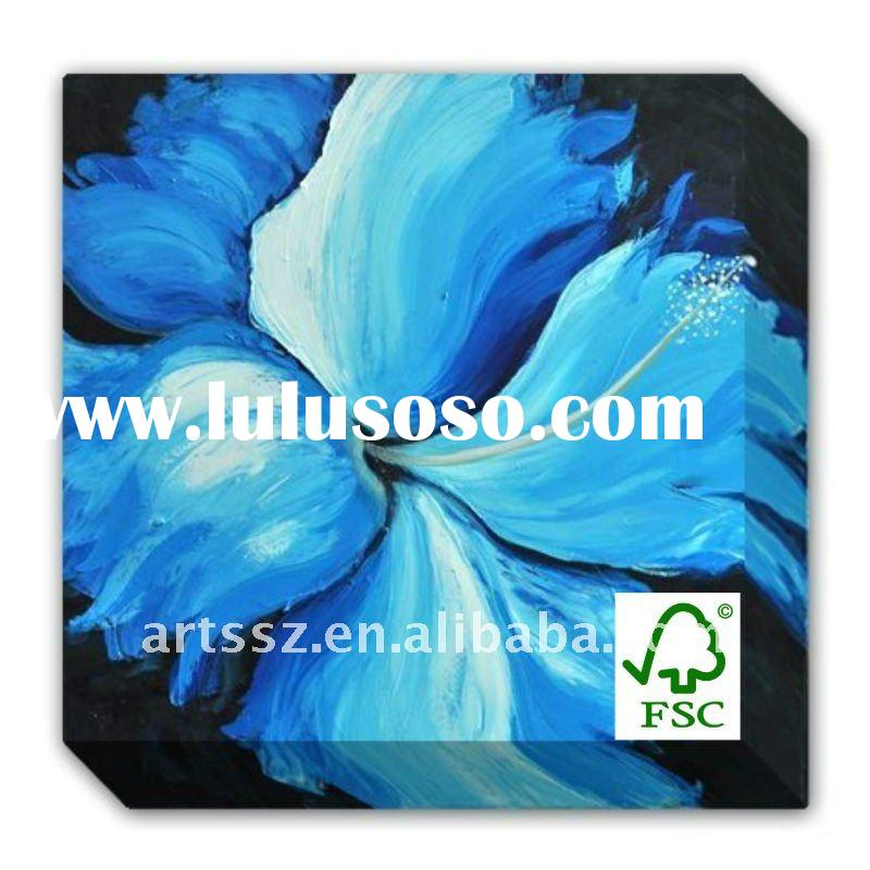 Home decoration Handmade Flower Oil Painting(SGS / FSC / TPC/BV)