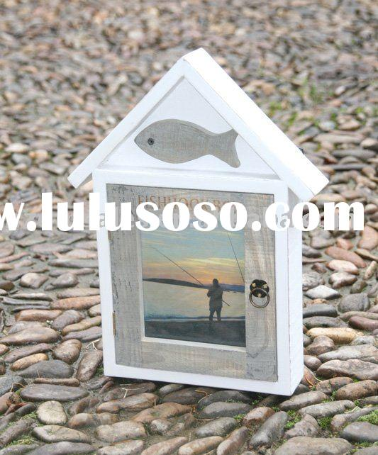 Home decoration wooden key box