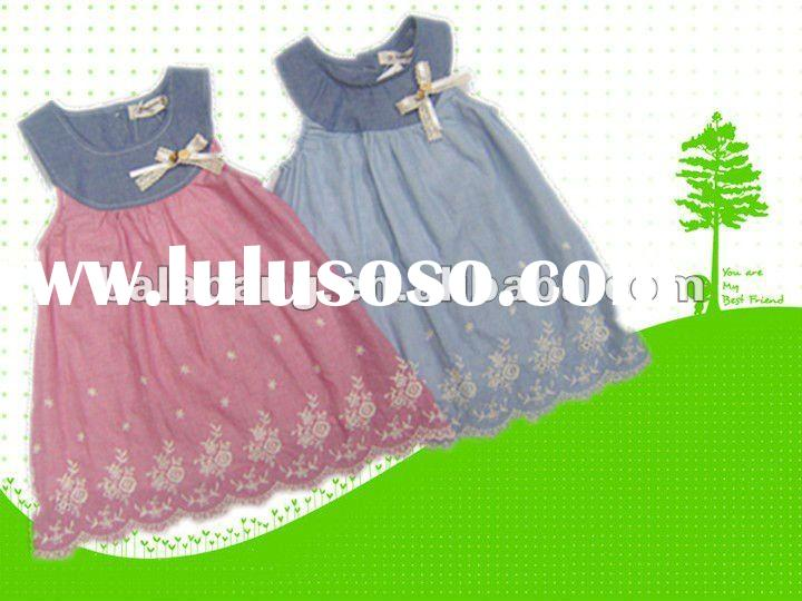 Hot sale!!! 2012 girls korean style summer dress