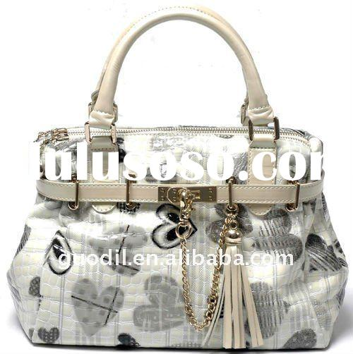 Hot sales!2012 the newest ladies genuine leather purse handbag in high quality