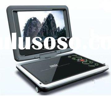 Hot selling 9 inch portable DVD player with TV function