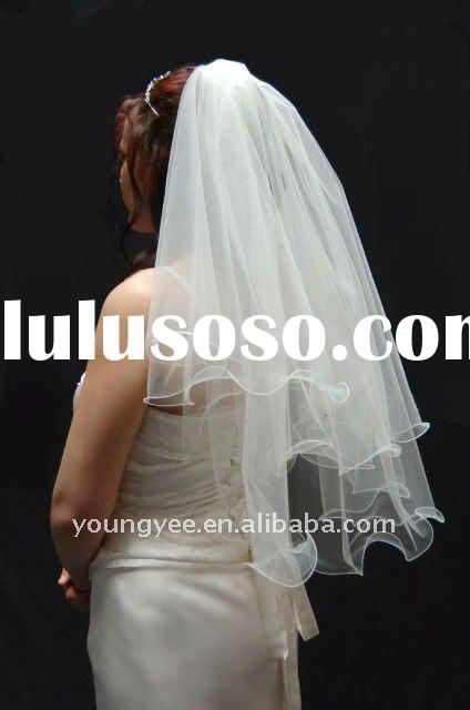 Hot style simple Bridal Veils 2012, wedding veil bridal accessories