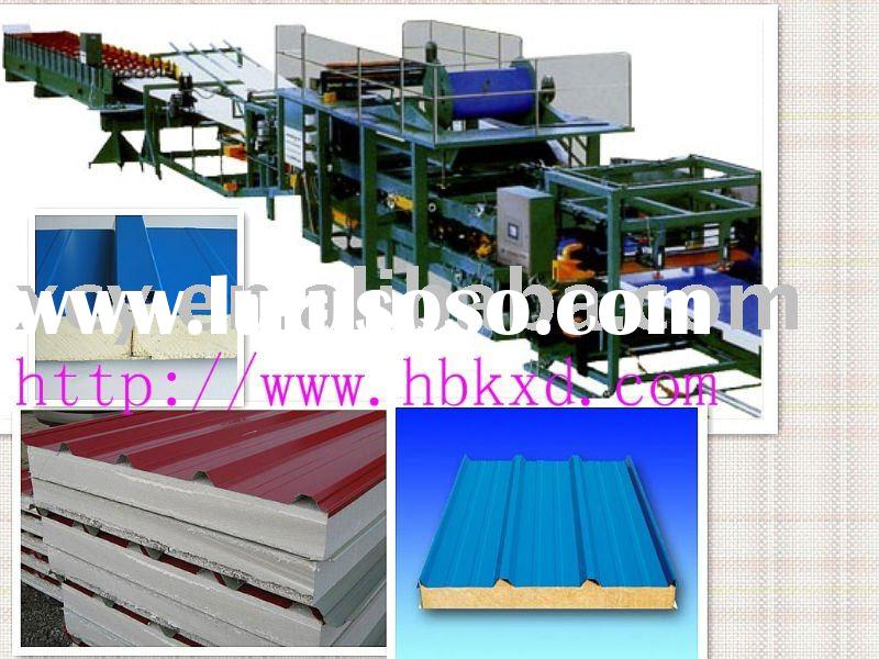 Insulated sandwich panel production line for EPS