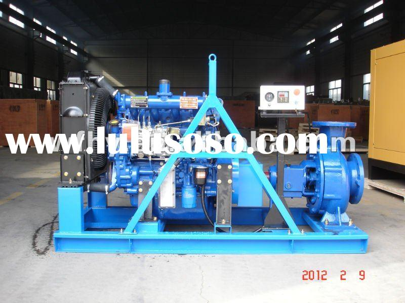 Irrigation Diesel Water Pump With Electric Start