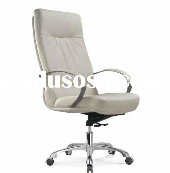 White leather desk chair white leather office chair