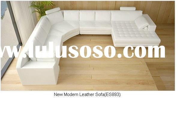 Italy Top Grain Leather+PVC S/Big Corner Sofa/Leather Sofa SR893