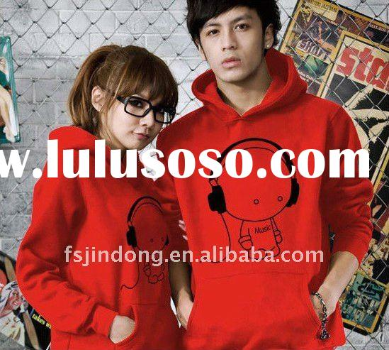 JD-MJT058 2011 High quality Sweatshirt , couple sweater , hoodies clothing