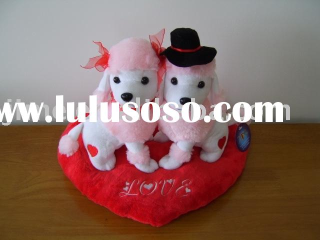 Dog Valentine Toys : Toys plush dog manufacturers in lulusoso