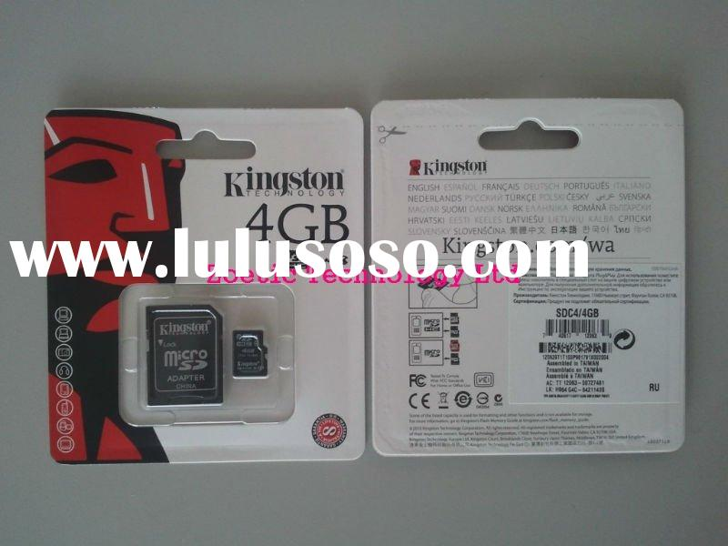 Kingston 4GB TransFlash( Micro SDHC) Class 4 ,mirco sd ,memory card # SDC4/4GB