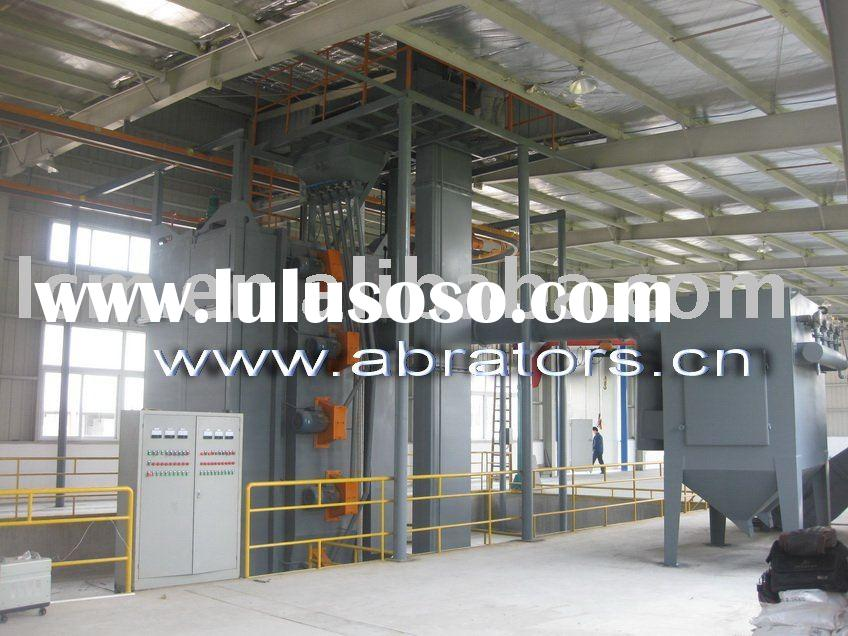 LCA7150 Shot Blasting Machine for cleaning car frame, truck frame , steel structure.