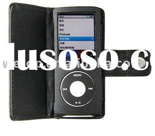LEATHER CASE POUCH PURSE COVER FOR APPLE IPOD NANO 5