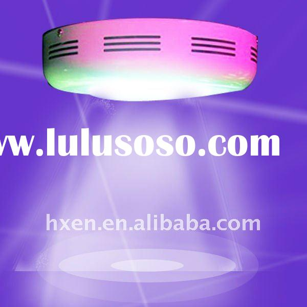 LED Grow Lamp/Light with Built-in Ventilation Fans, Uses 90% Less Energy