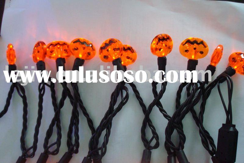 LED Pumpkin String Light (Mini Bulb Pumpkin Light Chain, christmas light,holiday light,