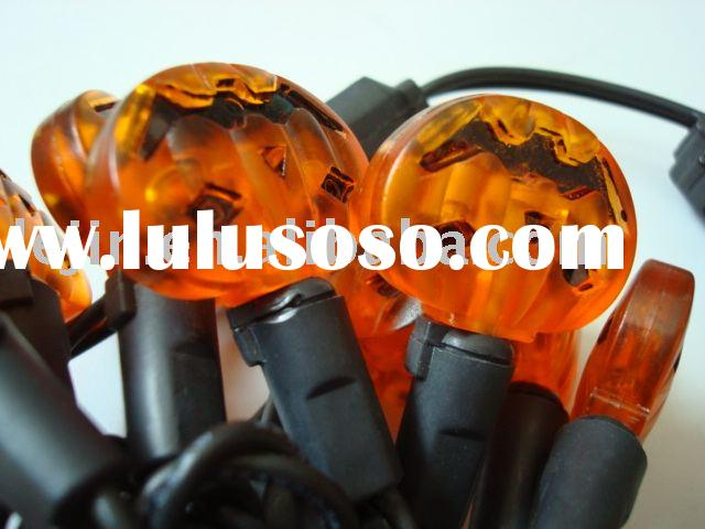 LED String Light (Mini Bulb Pumpkin Light Chain, led Pumpkin string light. christmas string light)