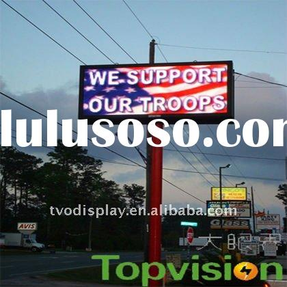led advertising: