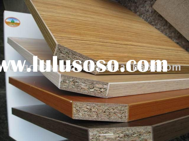 White Laminated Particle Board ~ Laminated particle board