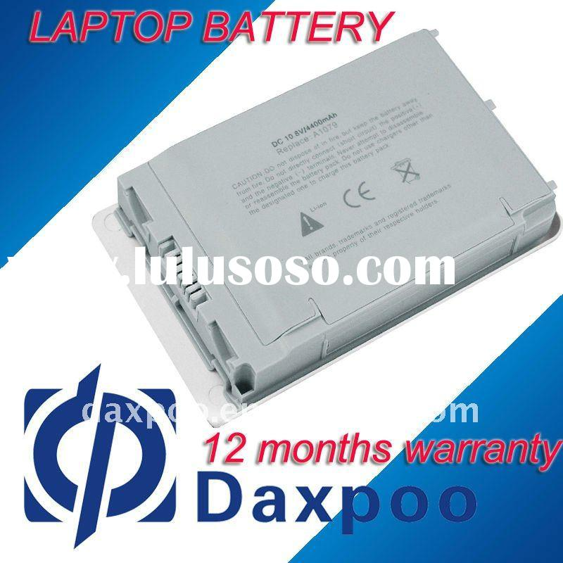 "Laptop Battery for Apple A1079 replacement for PowerBook G4 12"" M8760"