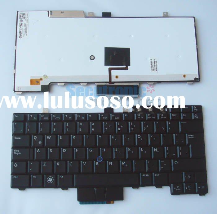 Laptop keyboard for Dell	Precision E6400 E6500 E5500 M2400 M4200 M4400 (Latitude E Series and Precis