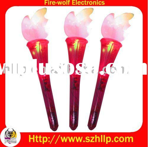 Led torch.Flashing torch.Led gift.Olympic torch.Sport torch.Flashing stick