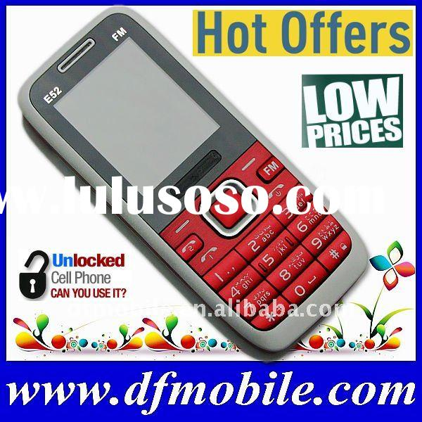 Low Price Dual SIM Mobile Phone E52