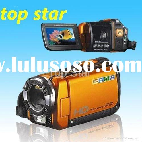 Low Price Fashionable Cheap MINI HD 720p waterproof sport DVR digital video camera with 30M water re