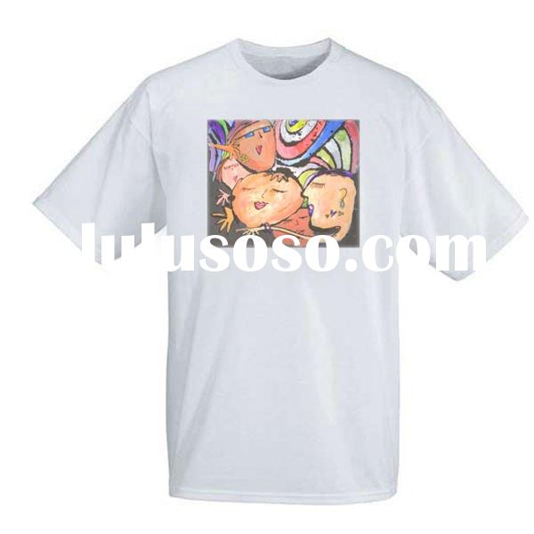 Low price printed advertising t shirts