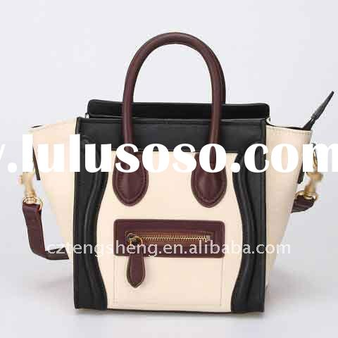 MOQ1(Free Shipping)- Guaranteed 100% Genuine Leather fashion handbags,Brand Designer Handbags No.880