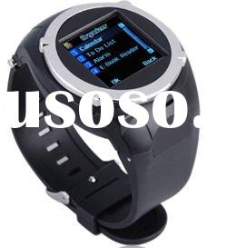 MQ988 Quad Band Camera 1.5 Inch Touch Screen Sports Wrist Watch Cell Phone