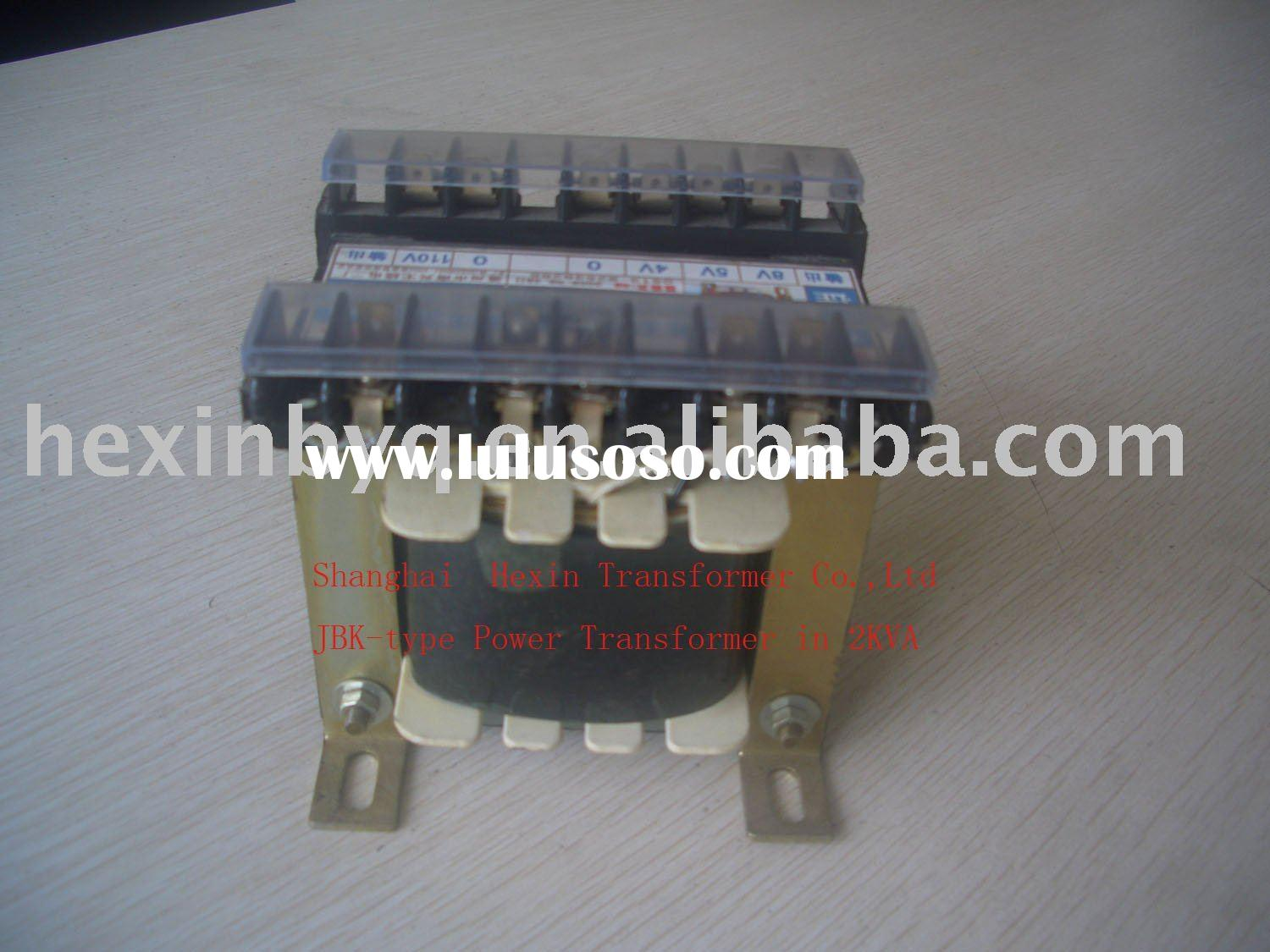 Machine Control Transformer in AC Voltage