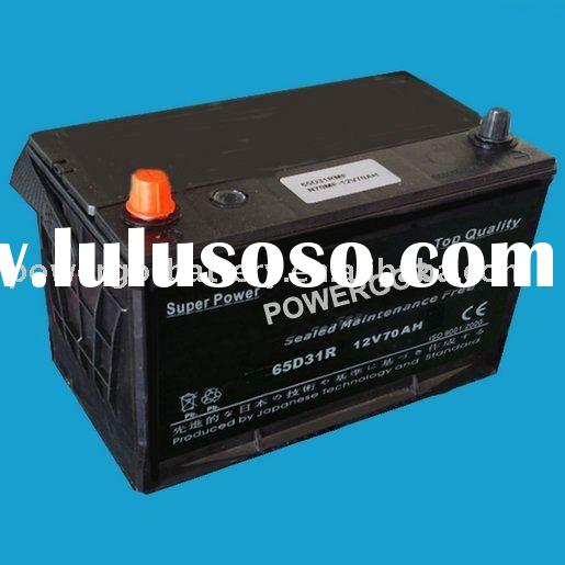 Maintenance Free Car battery 65D31R-MF(N70-MF)