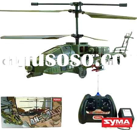 Military RC Toys Cobra Syma S009 Attack 3ch RC Helicopter