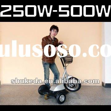 Mini 3 wheel mobility electric scooter 500W